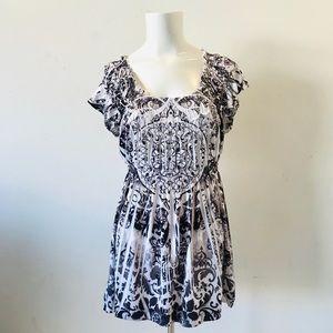 🆑 Live And Let Live Scoop Neckline Stretch Dress